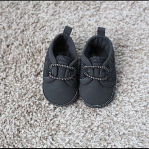 Carters Charcoal Baby Shoes